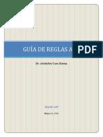 Guia de Reglas APA - Aristides Vara