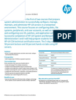 hp-ux system and network administration i
