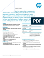 hp-ux system and network administration ii