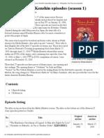 List of Rurouni Kenshin Episodes