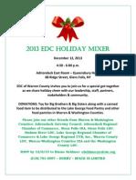 Holiday Mixer Invite