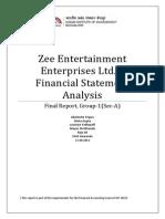 Group1 SectionA ZeeEntertainmentEnterprises FinalReport