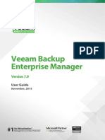 Veeam Backup 7 Enterprise Manager