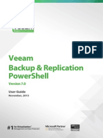 Veeam Backup 7 Powershell