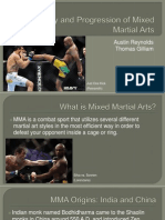 the history and progression of mixed martial arts7