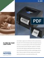 CL-S521 Data Sheet