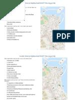 Dunbar Shore Neighbourhood DRAFT Plan Maps and Key Report 2013