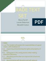 2nd grade text set