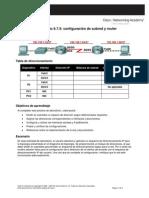 Práctica de laboratorio 6.7.5_Configuración de subred y router
