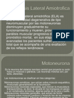 Esclerosis Lateral Amiotrofica