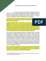 Politicas de Ciencia y Tecnologia y Teoria Critica Sobre El Desarrollo El Problema de La Articulacion