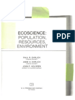 Eco Science - Three - Optimum Population