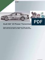 Ssp457 Audi A8 2010 Power Transmission Automatic Transmission