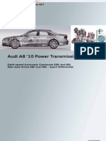 SSP457 Audi A8 2010 Power Transmission