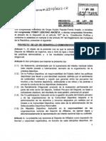 PL de desarrollo democrático del deporte.
