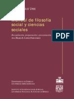 Hector Gonzalez Uribe - Manual de Filosofia Social y Ciencias Sociales 01