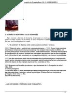 OO Sermão da Montanha e o Evangelho da Graça de Deus (VII) - A LEI DE MOISÉS 1.pdf