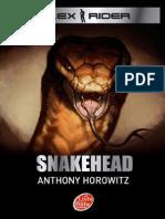 117681017 Anthony Horowitz Snakehead Alex Rider Tome 7 Docx