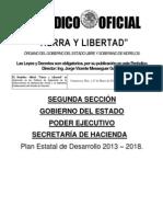 PED Morelos 2013 - 2018