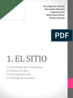 1. EL SITIO