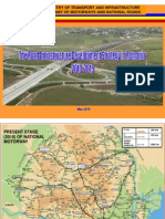 The Road Infrastructure Development Strategy in Romania 