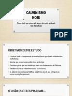 Calvinismo - Palestra Ipvs