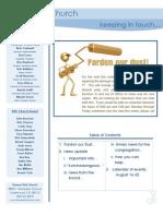 Newsletter - August 16, 2009