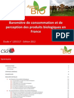 Barometre Agence Bio CSA2012
