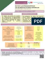 Infección por Clostridium difficile en los Servicios de Medicina Interna españoles (2005-2010). Análisis epidemiológico.