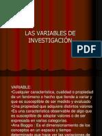 Las Variables