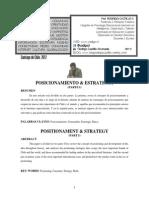 Art. Posicionamiento & Estrategia I