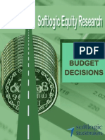 Softlogic Equity Research - Budget Decisions 2014