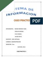 CASO PRACTICO 1 de Sistema de Informacion