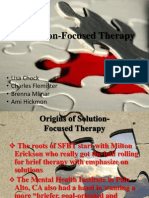 SFBT  Solution Focused Behavioral Theory
