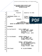 Games Workshop v. Chapterhouse (N.D. Ill) Trial Transcript (Day 10 of 10)