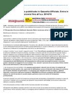 Orizzontescuola.it-tFA Speciali Decreto Pubblicato in Gazzetta Ufficiale Entra in Vigore Il 19 Luglio Percorsi Fino Alla