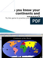 Do You Know Your Continents and Oceans? Try This Game
