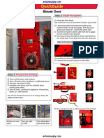 Retrotec US3112 US 3112 Blower Door Air Leakage Test System