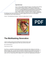 The Multitasking Generation - Multitasking in the Digital Age (Highlighted)