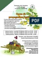 Volantino Corso Propagazione Agamica Febbraio 2013