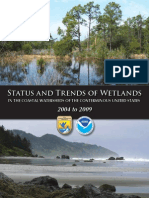Status and Trends of Wetlands from 2004 to 2009
