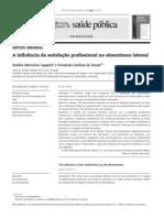 A influência da satisfação profissional no absentismo laboral