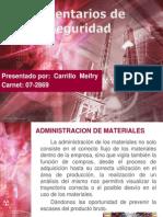 Administracion de Materiales (Inventario de Seguridad)