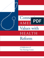Connecting American Values with Health Reform