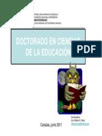 B. Doctorado. Presentación Seminario de Inducción