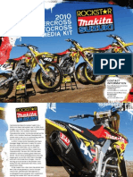 2010 Rockstar Makita Suzuki Supercross Team Media Kit