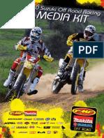 2010 Rockstar Makita Suzuki Off Road Racing Team Media Kit