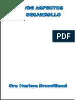 Nuevos Aspectos Del Desarrollo - Gro Harlem Brundtland