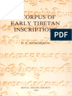 A Corpus of Early Tibetan Inscriptions