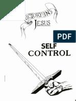 Self Control Booklet